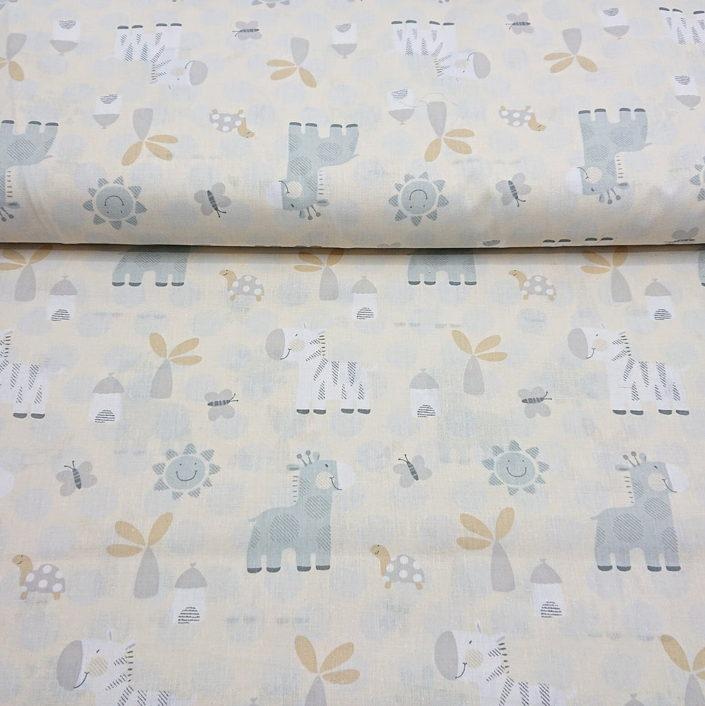 Animals Print Cotton - The Fabric Counter