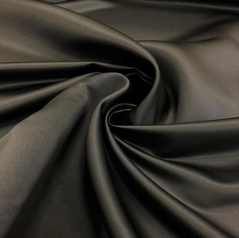 Anti-Snag Dutchess Satin - Gunmetal - The Fabric Counter