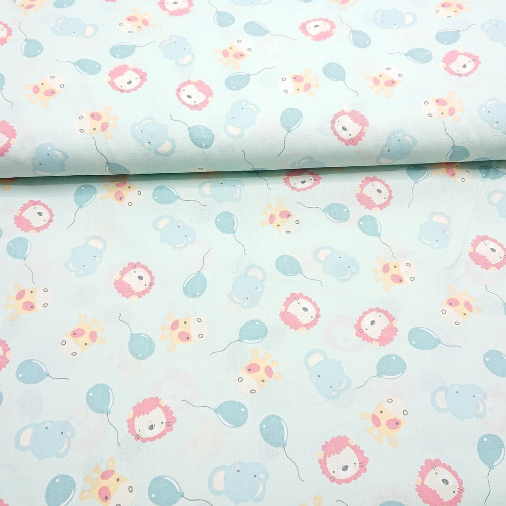 Baby Animal Cotton Print - The Fabric Counter