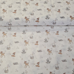 Bambi - Digital Cotton Print - The Fabric Counter