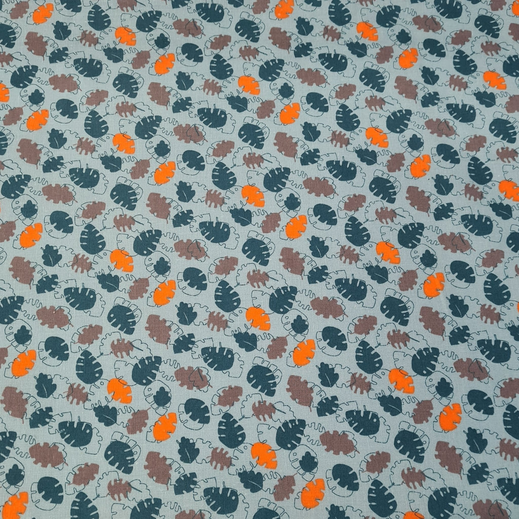 Banana Leaf Cotton Print - The Fabric Counter