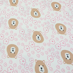 Bear - Printed Jersey - The Fabric Counter
