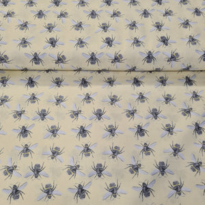 Bee Digital Cotton Print - The Fabric Counter