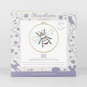 Bee Embroidery Kit - The Fabric Counter