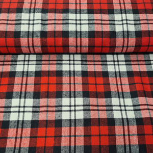 Brushed Cotton Tartan - The Fabric Counter