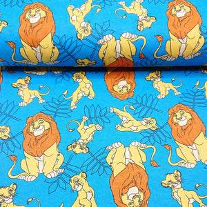 Brushed Cotton - The Lion King - The Fabric Counter