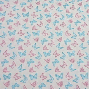 Butterfly Cotton Print - The Fabric Counter
