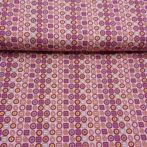 Button Cotton Print - The Fabric Counter