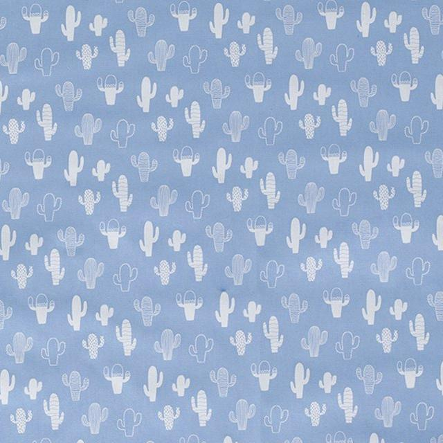 Cactus Cotton Print - The Fabric Counter