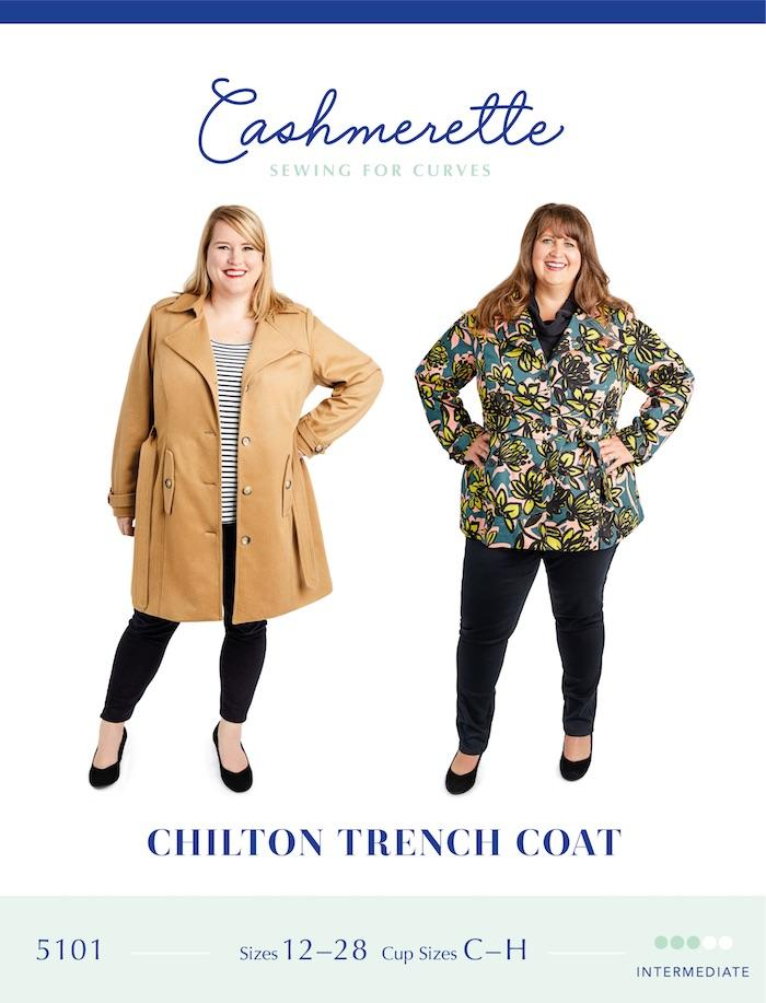 Cashmerette - Chilton Trench - The Fabric Counter