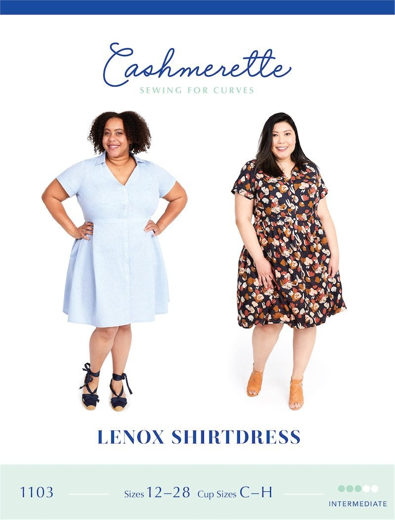 Cashmerette - Lenox Shirtdress - The Fabric Counter