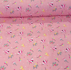 Circus Cotton Print - The Fabric Counter
