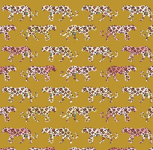 Colourful Leopard - French Terry Cotton Jersey - The Fabric Counter