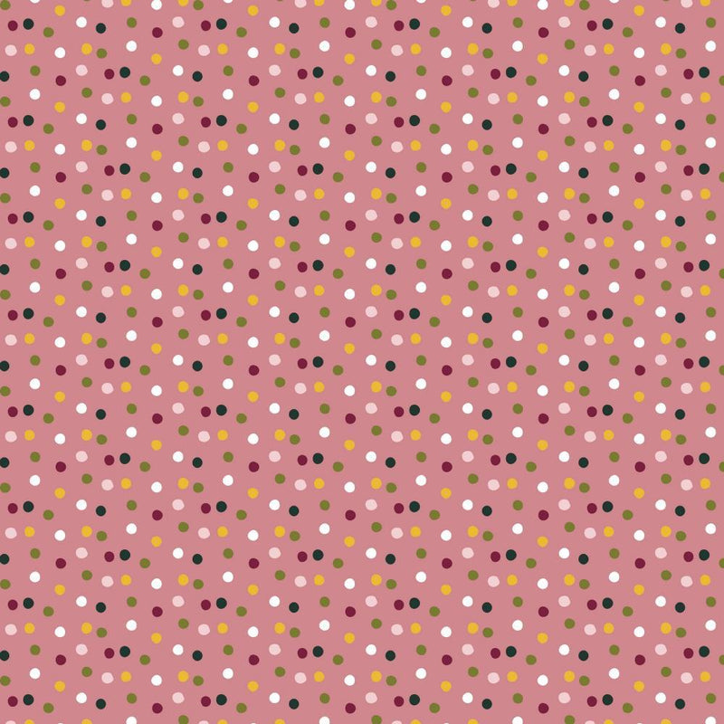 Colourful Spots - Cotton Print - The Fabric Counter