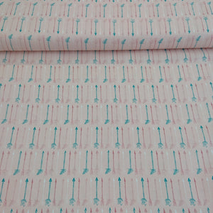 Craft Cotton Print - Arrows - The Fabric Counter