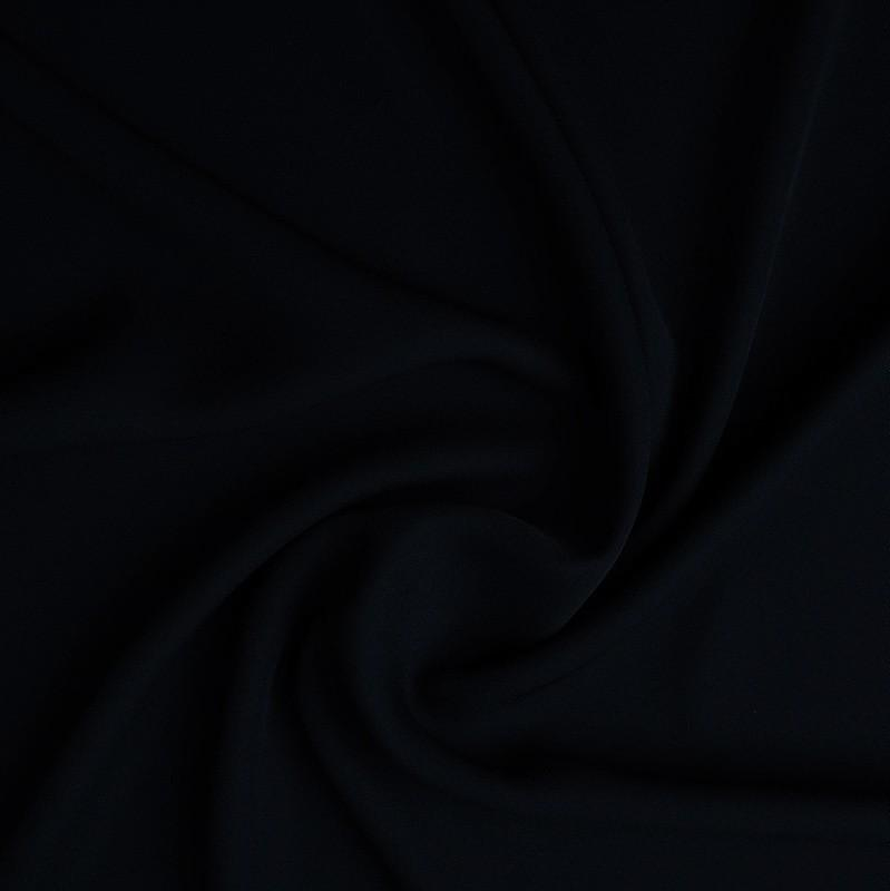 Crepe Georgette - Black - The Fabric Counter