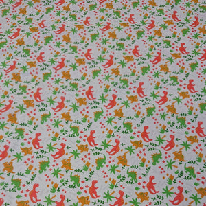 Dinosaur Polycotton - The Fabric Counter
