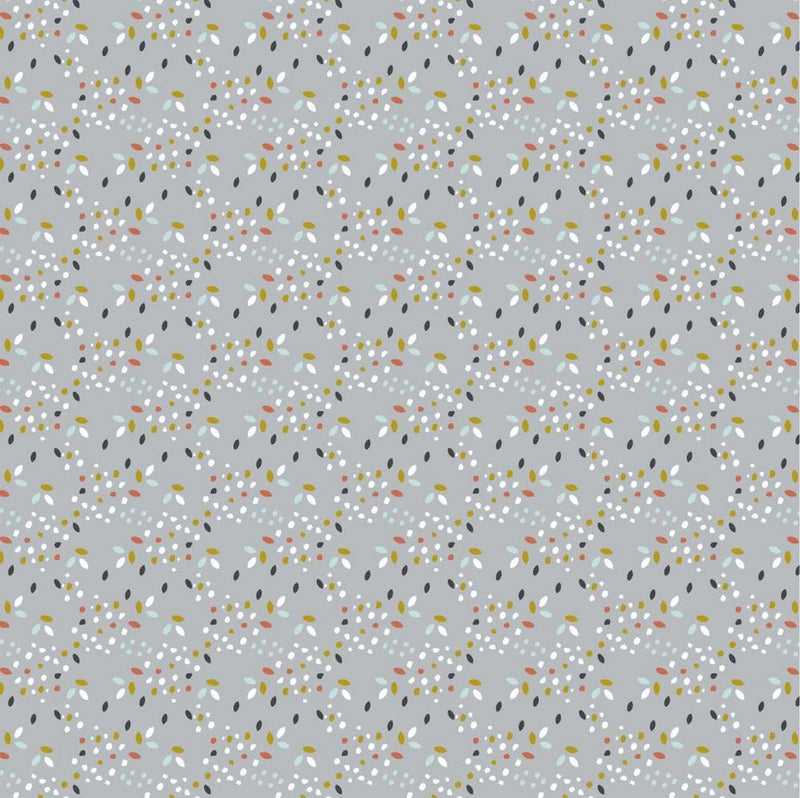 Ditsy Dots - GOTS Organic Cotton - The Fabric Counter