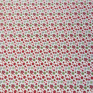 Floral Cotton Print - The Fabric Counter