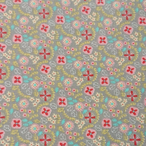Flower Cotton Print - The Fabric Counter