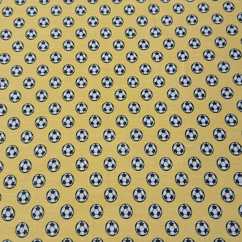 Football Cotton Print - The Fabric Counter