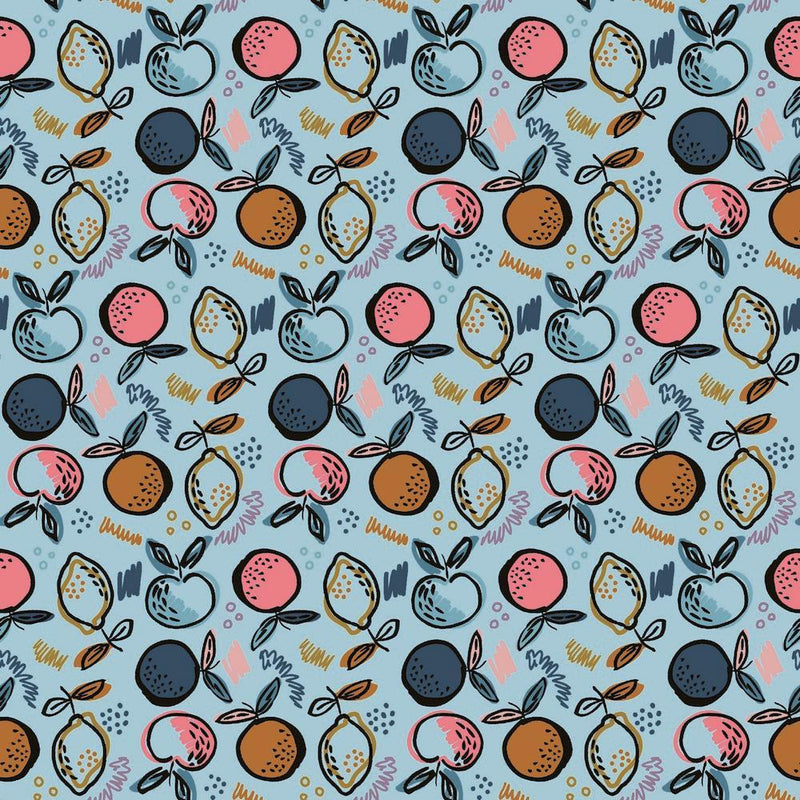 Fruity - GOTS Organic Cotton Jersey - The Fabric Counter