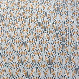 Geometric Cotton Print - The Fabric Counter