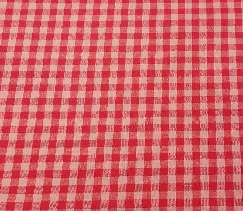 Gingham Print Cotton - The Fabric Counter