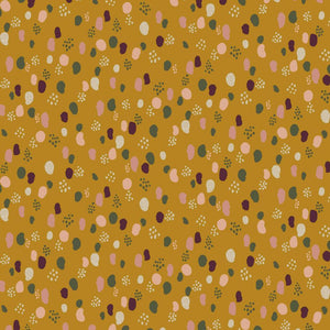 Glitter Dots - Cotton Jersey - The Fabric Counter