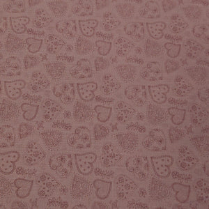 Heart Cotton Print - The Fabric Counter