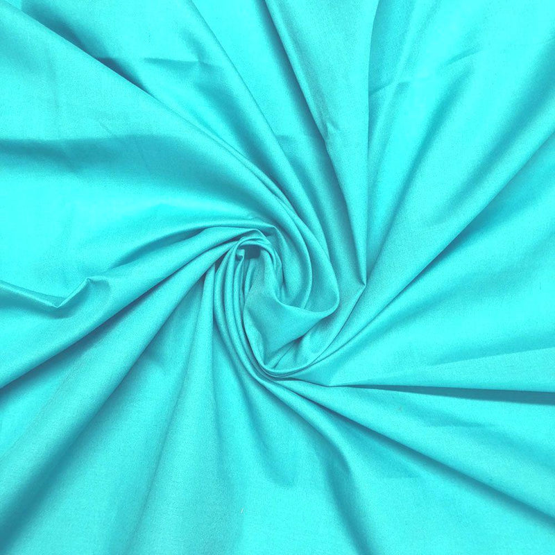 Plain Polycotton - Teal Blue