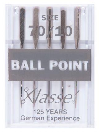 Klasse Machine Needles Ballpoint 70/10 - The Fabric Counter