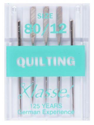 Klasse Machine Needles: Quilting 80/12 - The Fabric Counter