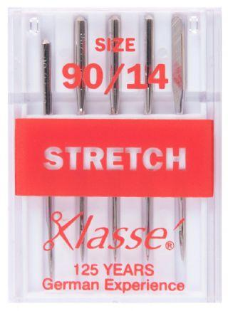 Klasse Machine Needles Stretch 90/14 - The Fabric Counter