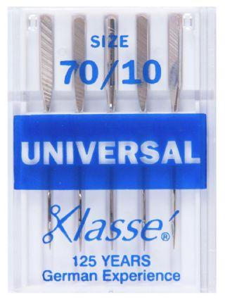 Klasse Machine Needles Universal 70/10 - The Fabric Counter