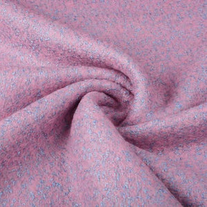 Lanzo Wool Mix - Pink/Blue - The Fabric Counter