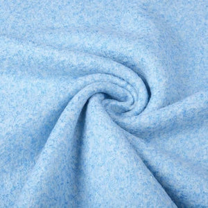 Lanzo Wool Mix - Sky Blue - The Fabric Counter