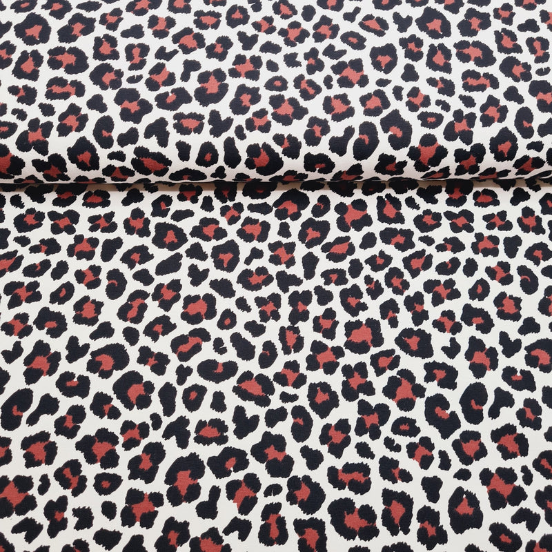 Leopard Print - Jersey - The Fabric Counter