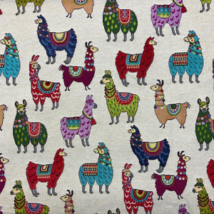 Llama Tapestry - The Fabric Counter