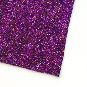 Magenta Premium Glitter Canvas (A4 Sheet) - The Fabric Counter