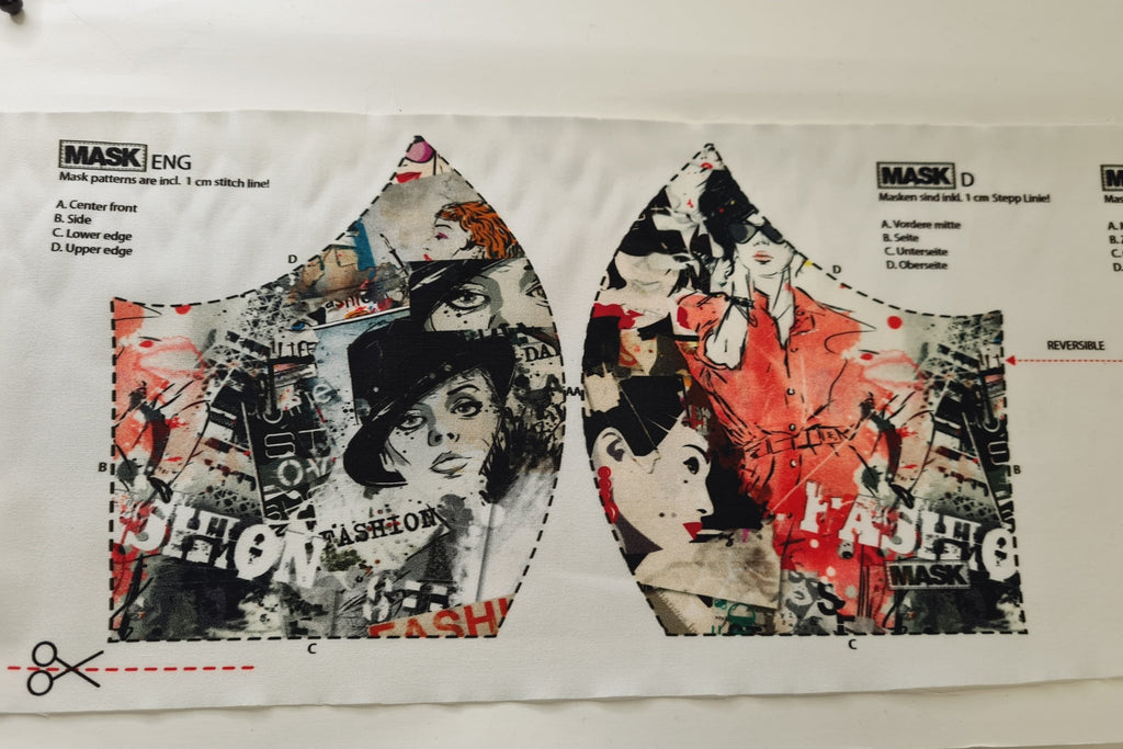 Mask Panel - Fashion - The Fabric Counter