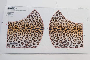 Mask Panel - Leopard - The Fabric Counter