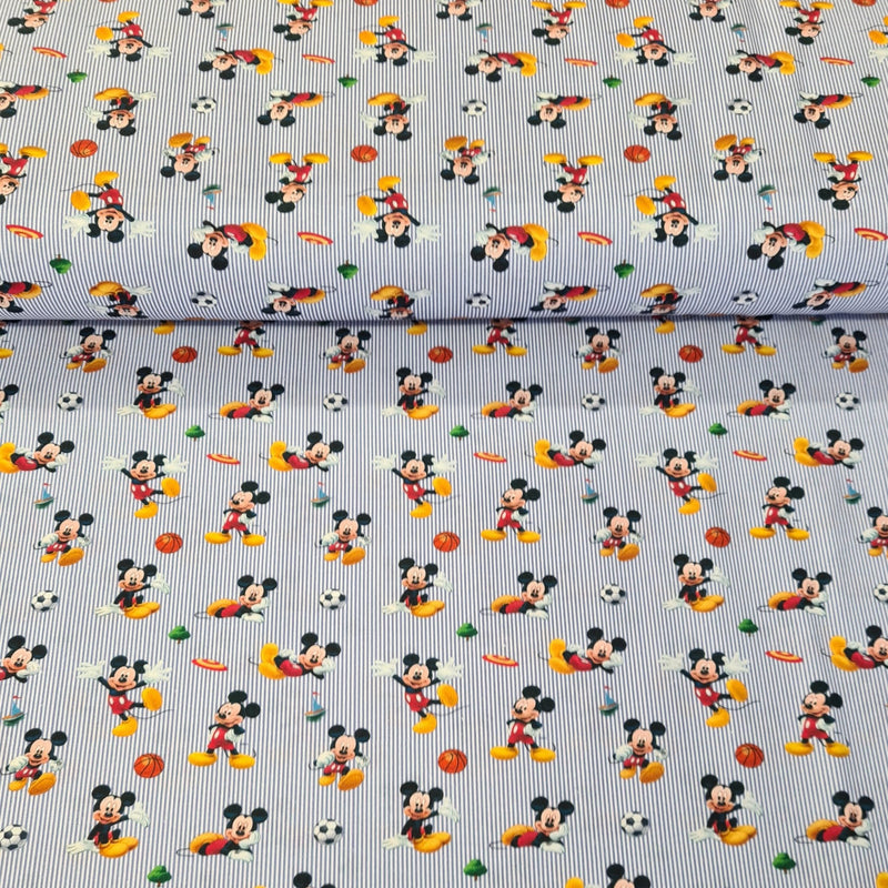 Mickey Mouse - Digital Cotton Print - The Fabric Counter