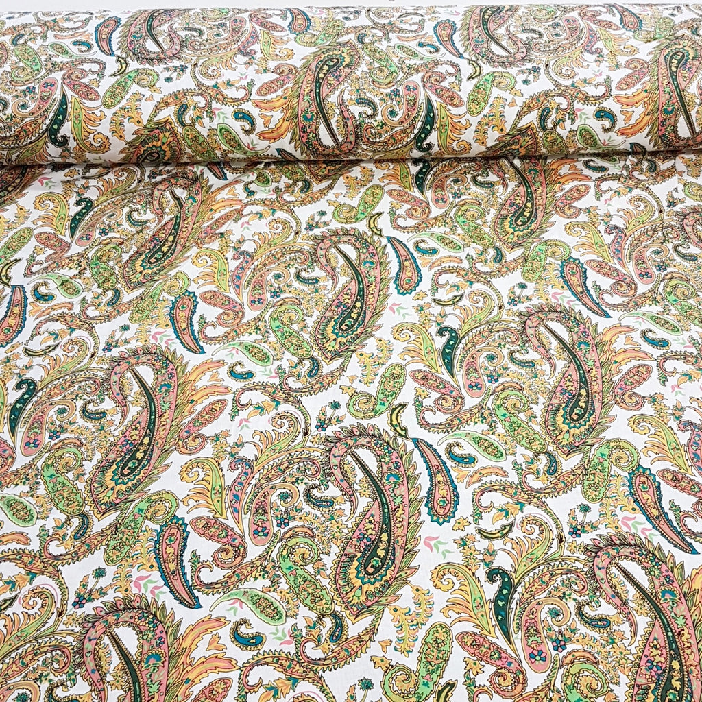 Paisley Cotton Lawn - The Fabric Counter