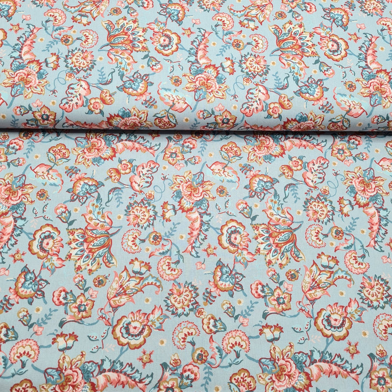 Paisley - Cotton Print - The Fabric Counter