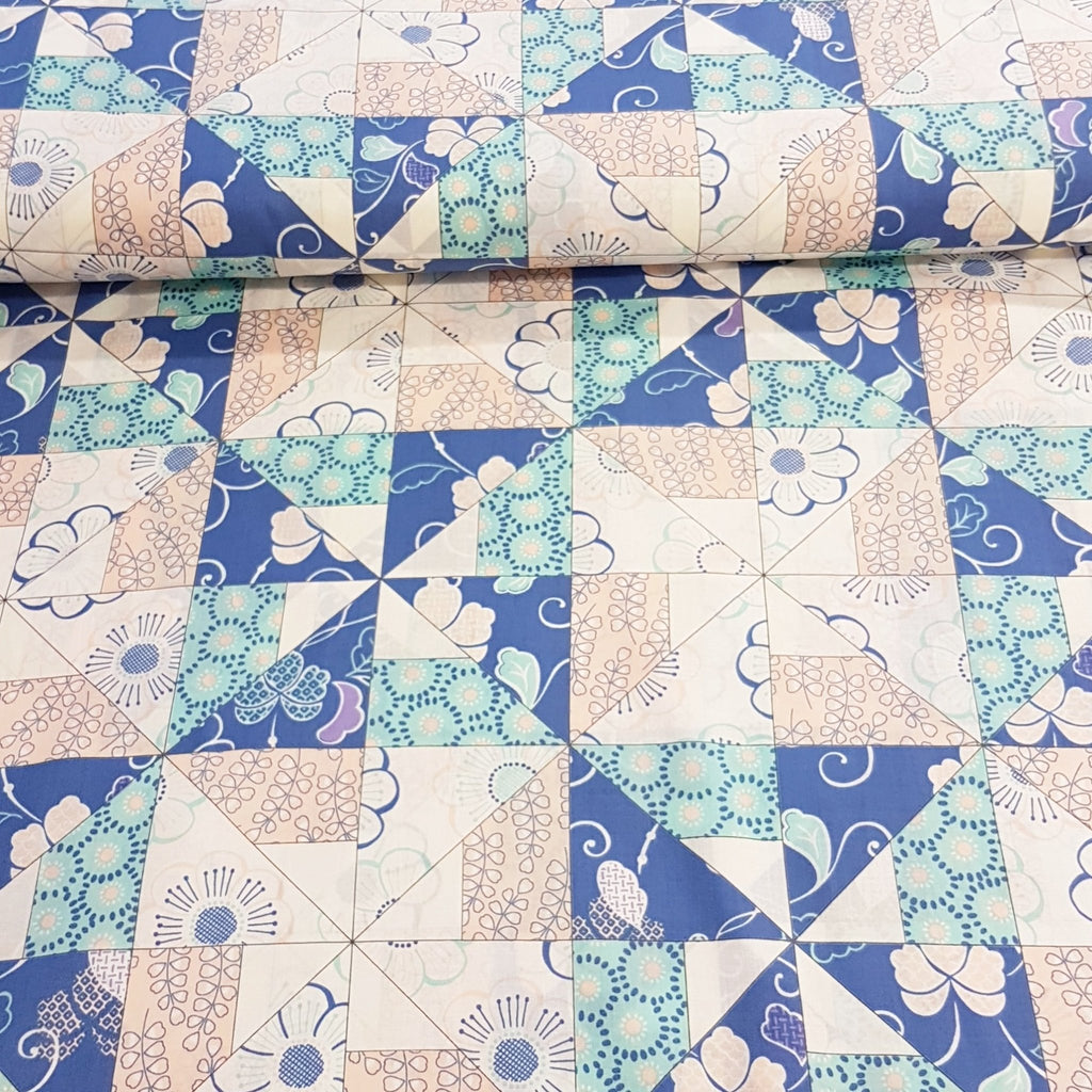 Patchwork Cotton Lawn - The Fabric Counter