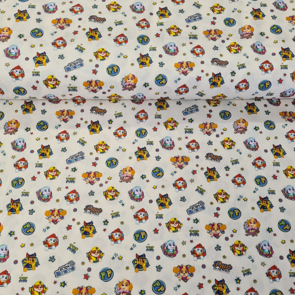 Paw Patrol - Digital Cotton Print - The Fabric Counter
