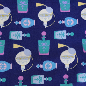Perfume Bottle Cotton Print - The Fabric Counter