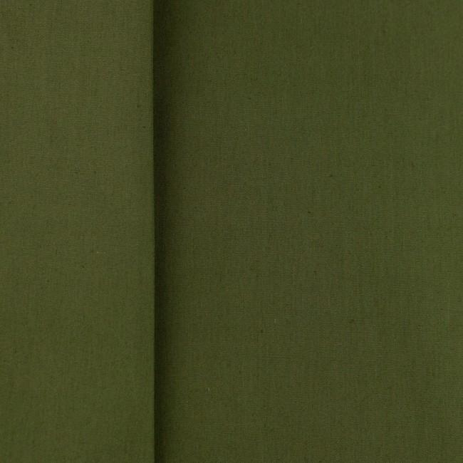 Plain 100% Cotton - Army Green - The Fabric Counter