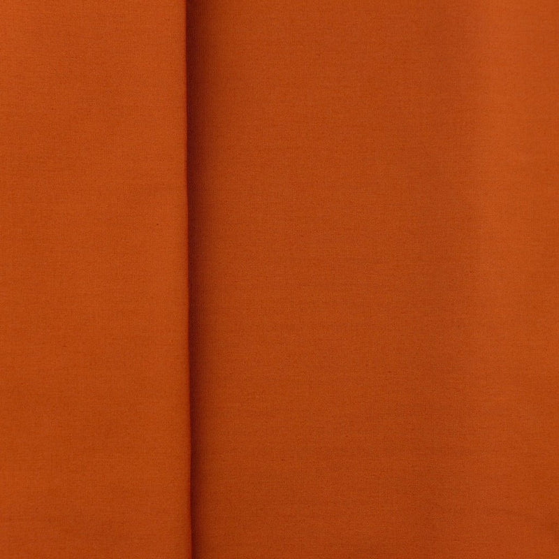 Plain 100% Cotton - Rust - The Fabric Counter